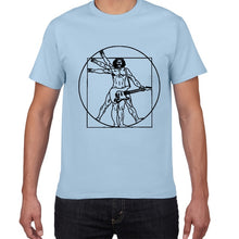 Load image into Gallery viewer, Da Vinci guitar funny T-Shirt
