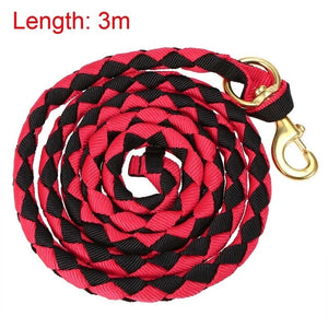 Braided Horse Leading Rope