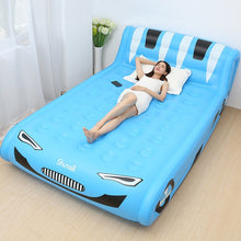 將圖片載入圖庫檢視器 Double Inflatable Air Bed Great for camping