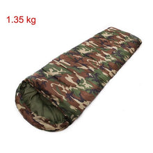 Load image into Gallery viewer, Camouflage Camping Sleeping bag 5 degree Envelope Style
