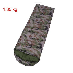 Camouflage Camping Sleeping bag 5 degree Envelope Style