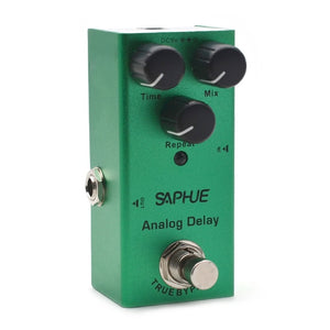 SAPHUE Electric Guitar Pedal Vintage Overdrive/Distortion Crunch/Distortion/US Dream/Classic Chorus/Vintage Phase/Digital Delay
