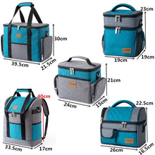 "Load image into Gallery viewer, Large Shoulder Insulated Cooler Bag ""great for Camping"""