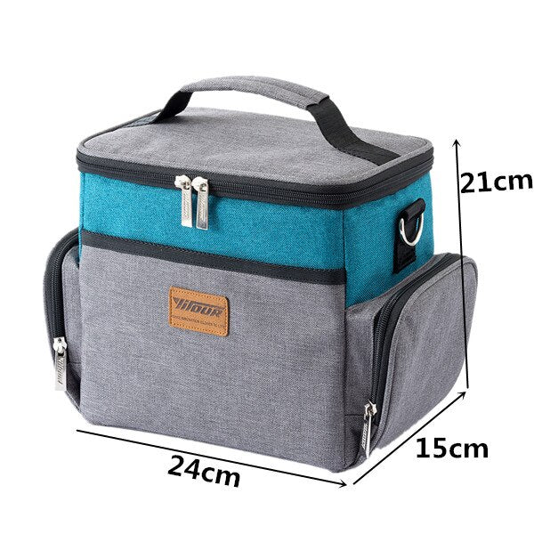 Large Shoulder Insulated Cooler Bag