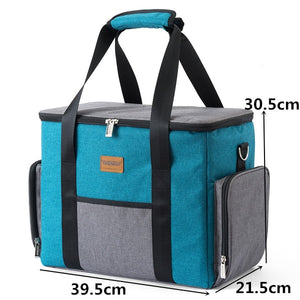 "Large Shoulder Insulated Cooler Bag ""great for Camping"""