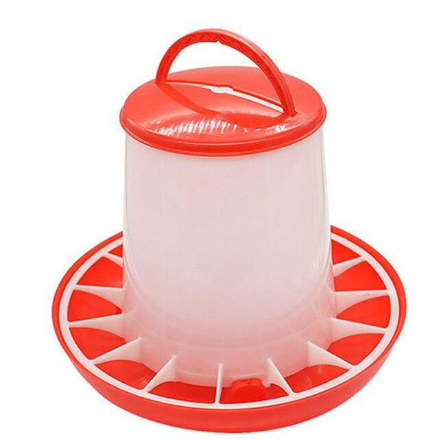 1.5kg Plastic Chicken Food Feeder - EL Cheapos Stuff