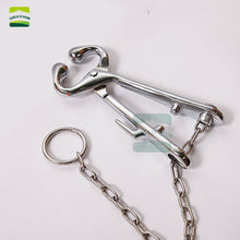 Load image into Gallery viewer, Stainless Steel cow calf Nose Ring Pliers