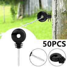 Load image into Gallery viewer, 50pcs Electric Fence Offset Ring Insulator