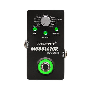 Electric Guitar Digital Modulator Effect Pedal with 11 Modulation Effects