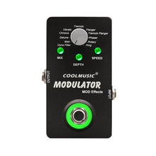 將圖片載入圖庫檢視器 Electric Guitar Digital Modulator Effect Pedal with 11 Modulation Effects