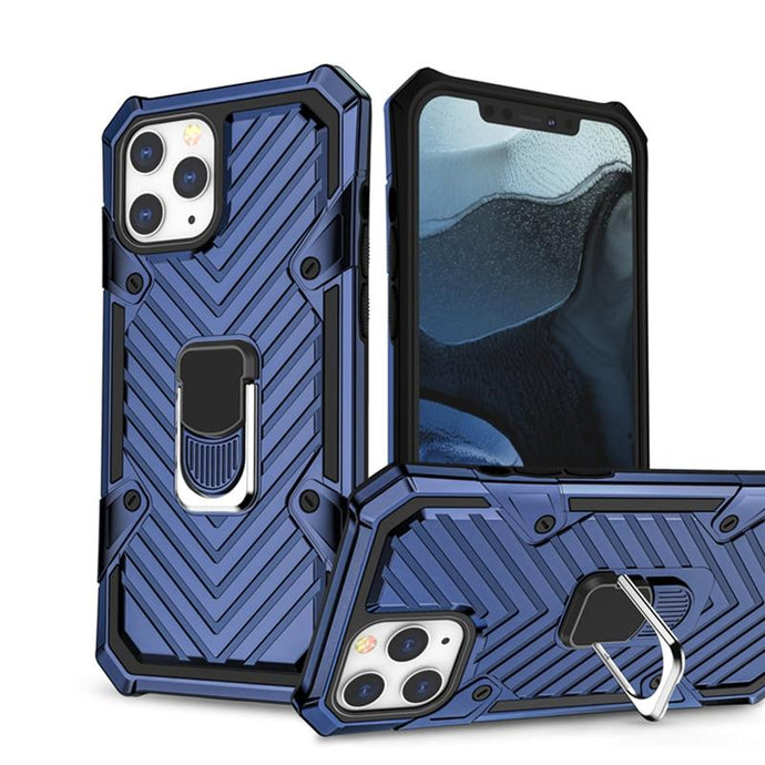 Armor Bumper Shockproof Kickstand Case For iPhone 12 - EL Cheapos Stuff