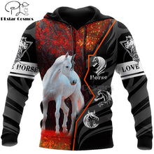 Load image into Gallery viewer, Men Or Women Beautiful Horse Racing Limited Edition 3d Zipper Hoodies, Long Sleeve Sweatshirt, Jacket Pullover