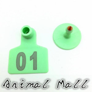 Three color Pig Cow Sheep Identity Numbers