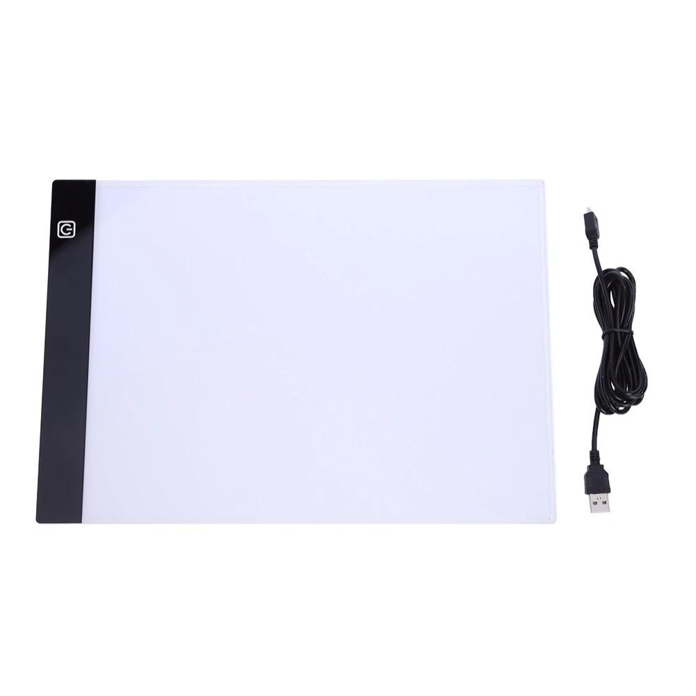 Ultrathin 23.5x33.5 A4 LED Light Tablet Pad
