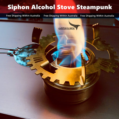 Siphon Alcohol Stove Steampunk EDDY-X