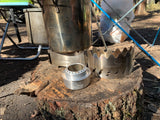 Pure aluminium UL bracket Mini Alcohol Stove