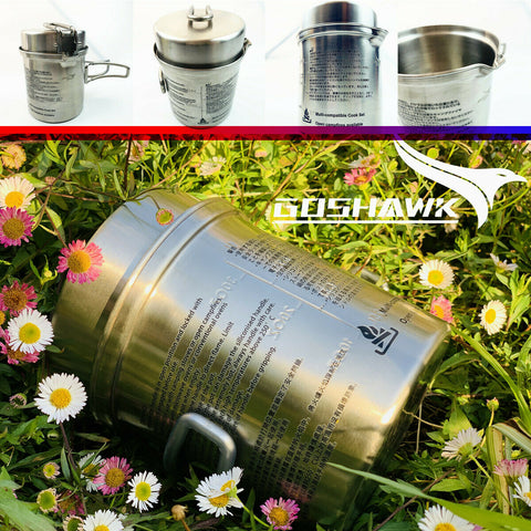 Stainless Steel Outdoor Cooking Pot