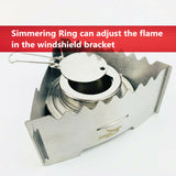 Triangle windshield bracket Spirit Stove