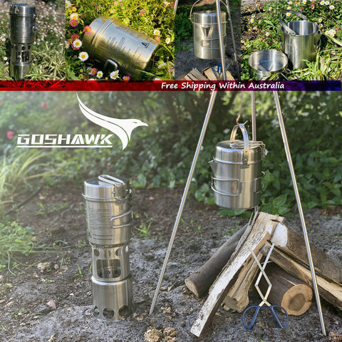 Cookware Cooking Pot for Hanging Pot Campfire