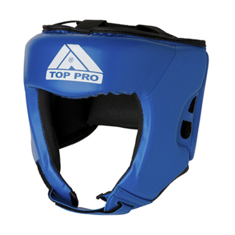 Top Pro Fighter Gloves Blue & Volt Yellow 16oz