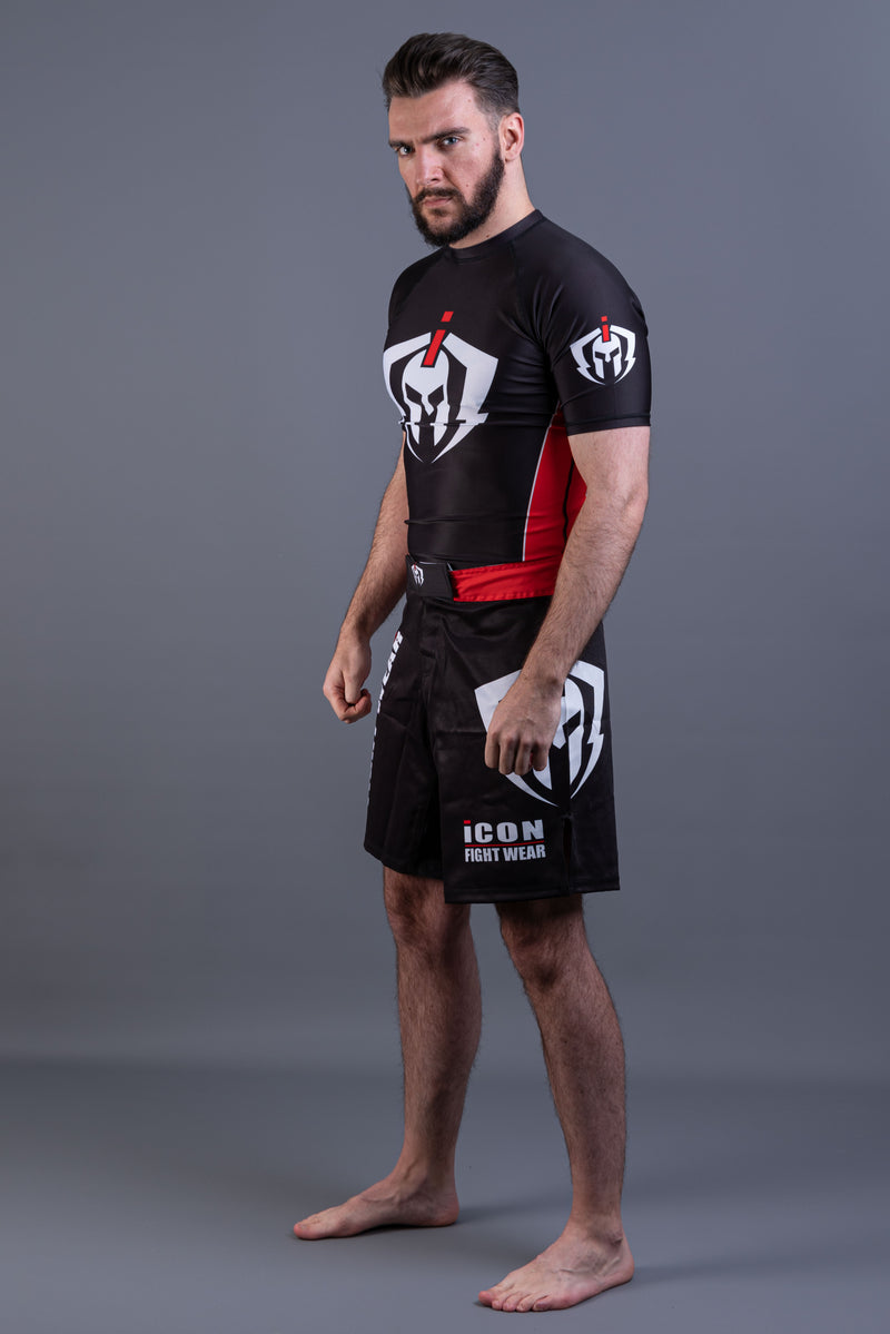 ICON Rash Guard Short Sleeves