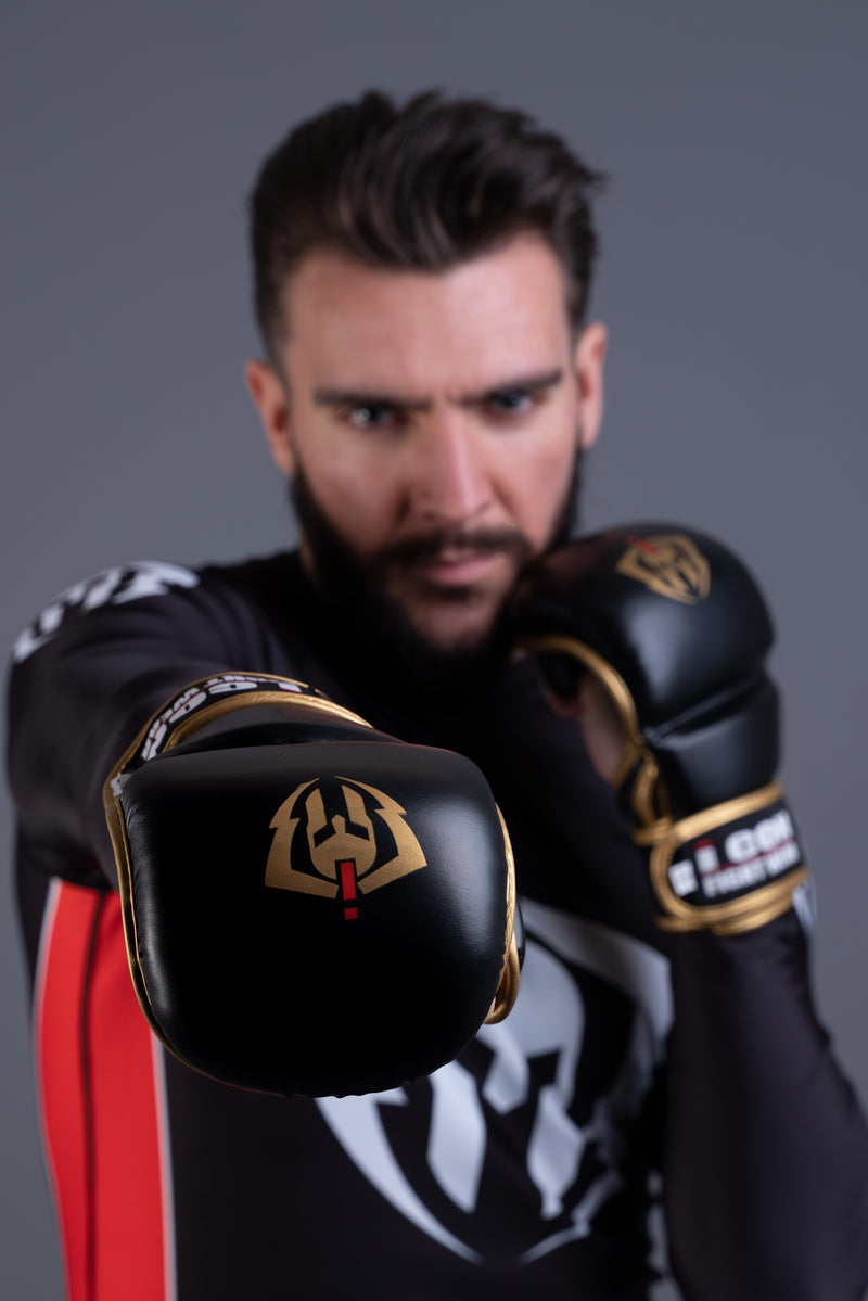 ICON MMA GLOVES Black / Gold