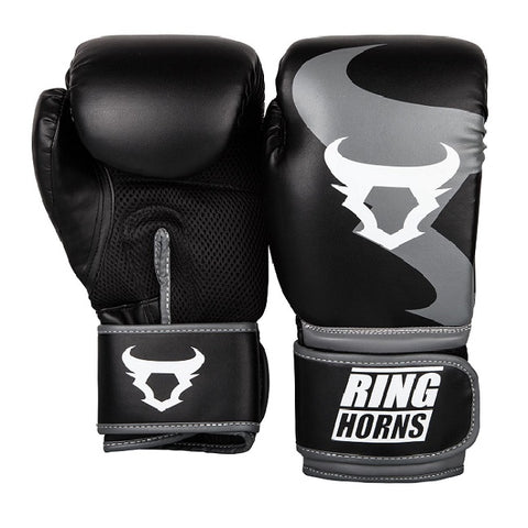 Ringhorns Charger MMA Gloves Black