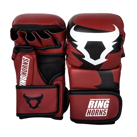 TKO Carbon Youth Boxing Gloves Red 10oz
