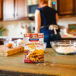 Cooking with Chicken & Waffles Crispy Fry Mix