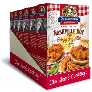 Load image into Gallery viewer, Nashville Hot Style Crispy Fry Mix - Case