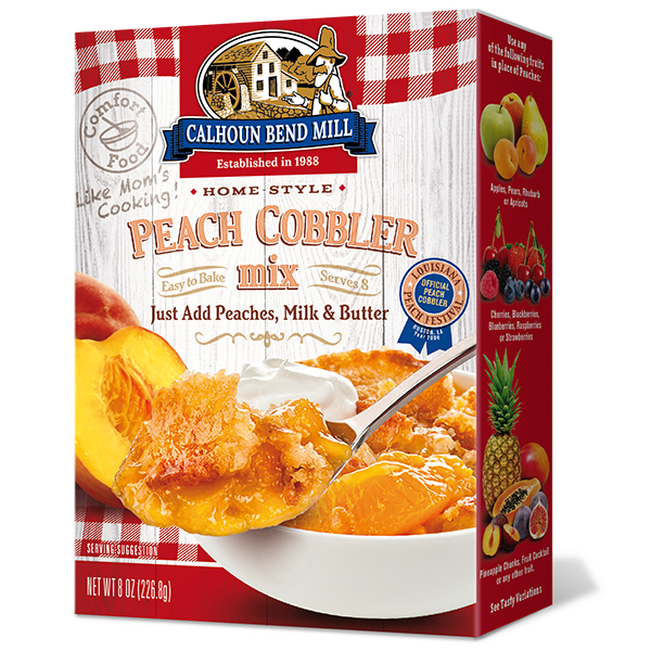Calhoun Bend Mill - Peach Cobbler Mix
