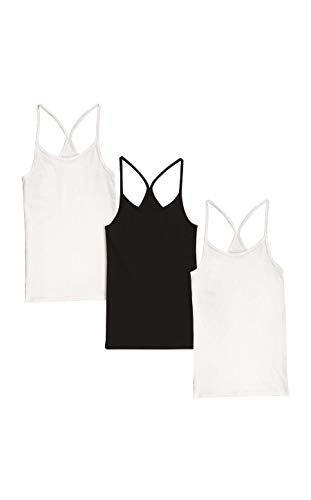Hanes Women's Cami 3-Pack, Assorted, Large