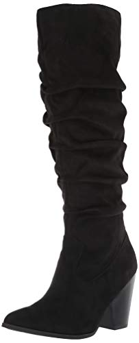 Carlos by Carlos Santana Women's Peyton Knee High Boot, Black, 7.5 M M US