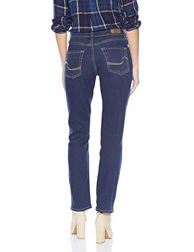 Signature By Levi Strauss & Co Women's Curvy Straight Jeans, Awaken, 12 Medium