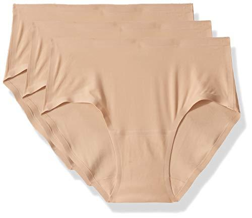 Chantelle Women's Soft Stretch One Size Seamless Hipster (3-Pack), Ultra Nude OS - PRTYA