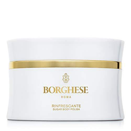 Borghese Rinfrescante Sugar Body Polish -Body Exfoliator & Sugar Scrub for Skin Care- 8.0 Fl Oz