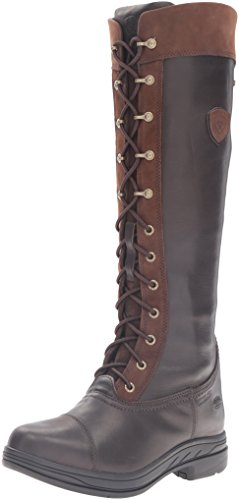 Ariat Women's Coniston Pro GTX Insulated Country Boot, Ebony, 9 B US