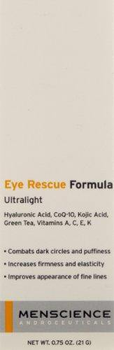 MenScience Androceuticals Eye Rescue Formula, 0.75 oz