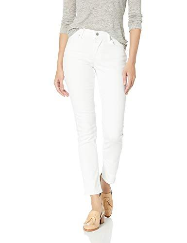Levi's Women's Classic Mid Rise Skinny Jeans, Pure White, 28 Regular