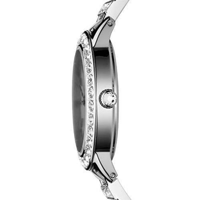Fossil Women's Jesse Quartz Stainless Steel Dress Watch, Color: Silver (Model: ES2362)