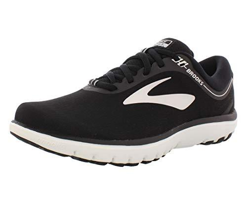 Brooks Women's PureFlow 7, Black/White, 8.5 B - PRTYA