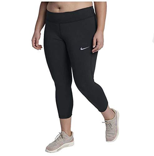 Nike Women's Plus Epic Lux Running Crop Tights-Black-2X - PRTYA