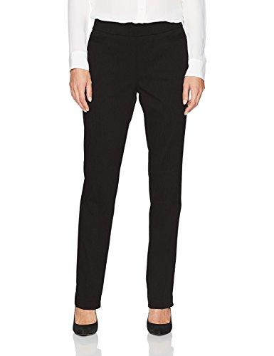 Briggs New York Women's Super Stretch Millennium Welt Pocket Pull on Career Pant, Black, 14 - PRTYA