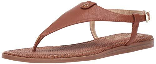 Circus by Sam Edelman Women's Carolina Flat Sandal, Saddle Tumbled Bolt, 8 Medium US - PRTYA
