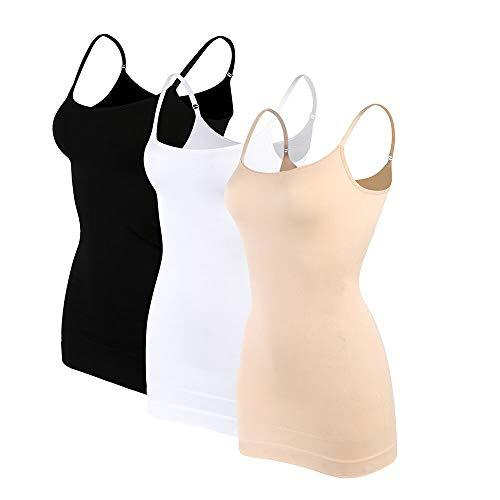 MET GALA Women's Compression Tank Top Spandex Firm Tummy Control Cami Shapewear Body Shaper