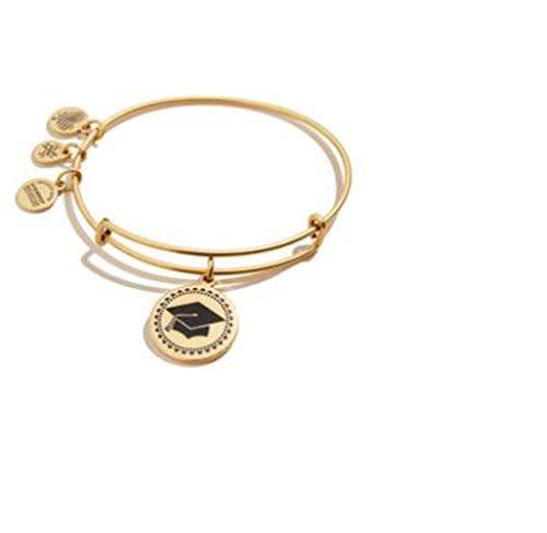Alex and Ani Class of 2020 Bangle Bracelet Gold One Size, Rafaelian Gold (A20EBGRADRG)