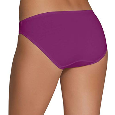 Fruit of the Loom Women's 6 Pack Cotton Stretch Bikini Panties, Assorted, 7