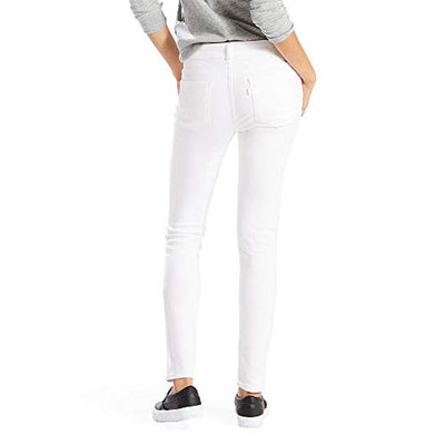 Levi's Women's 711 Skinny Jeans, Soft Clean White, 29 (US 8) R