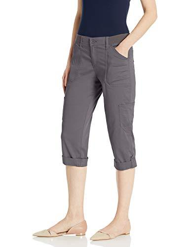 Lee Women's Flex-to-Go Cargo Capri Pant, Dazed, 12