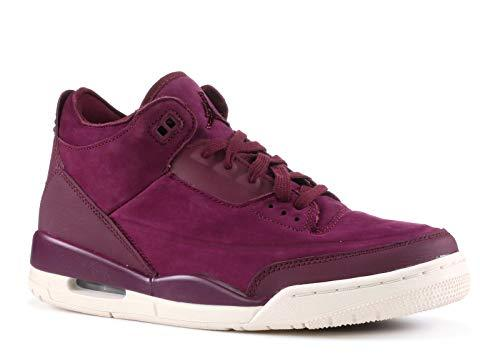 AIR JORDAN 3 Retro Se 'Bordeaux' Womens -Ah7859-600 - Size W8.5 - PRTYA